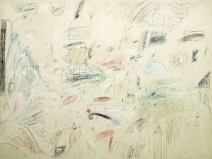 Twombly, Cy (b. 1929): The Italians, 1961