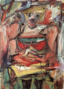 Woman Painting- Willem De Kooning
