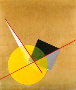 Yellow Circle- László-Moholy-Nagy