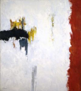 """White Field VII,"" 1961- Theodoros Stamos"