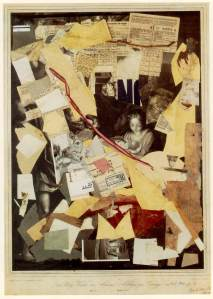 1947 The Holy Night by Antoni Allegri, known as Corregio, worked through by Kurt Schwitters