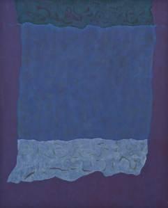 "Theodoros Stamos, ""Infinity Field, Lefkada Series (1980)"""