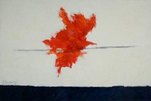 """Theodoros Stamos, """"Low Sun, Blue Bar"""" (1962)"""