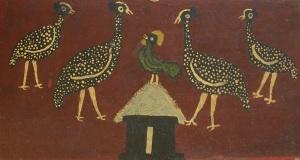 Rooster- Edward Tingatinga