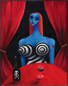 Blue Girl- Tim Burton