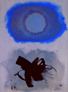 Adolph Gottlieb- Blues 1962