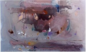 Grey Fireworks- Helen Frankenthaler