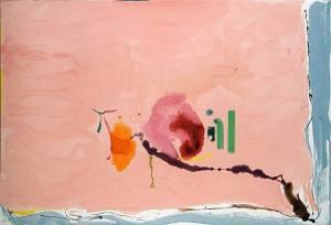 Helen Frankenthaler- Flirt