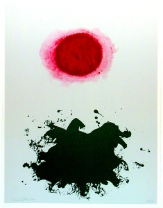 Adolph Gottlieb- Red Burst