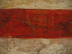Flag (detail)- Jasper Johns