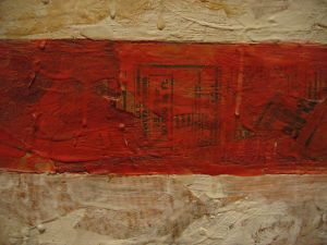 Flag (detail)- Jasper Johns