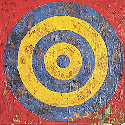Day Eighty- Jasper Johns- Existing Things   Day of the Artist