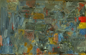 Map- Jasper Johns