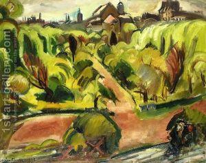 Le Jardin De Rodin- Othon Friesz