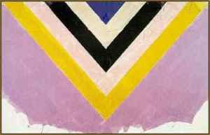 Kenneth Noland, Lovely Rosa, 1983