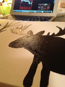 Guess I'll do a moose!