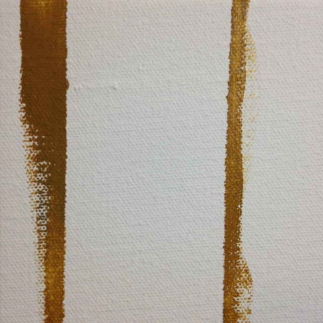 Close-Up 2 Double Zip- Tribute to Barnett Newman Linda Cleary 2014 Acrylic on Canvas