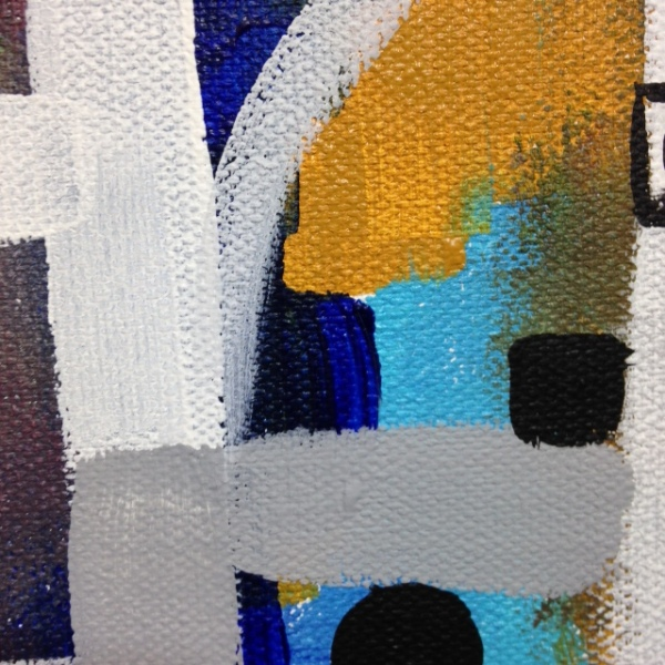 Close-Up 2 Number 62- Tribute to Bradley Walker Tomlin Linda Cleary 2014 Acrylic on Canvas