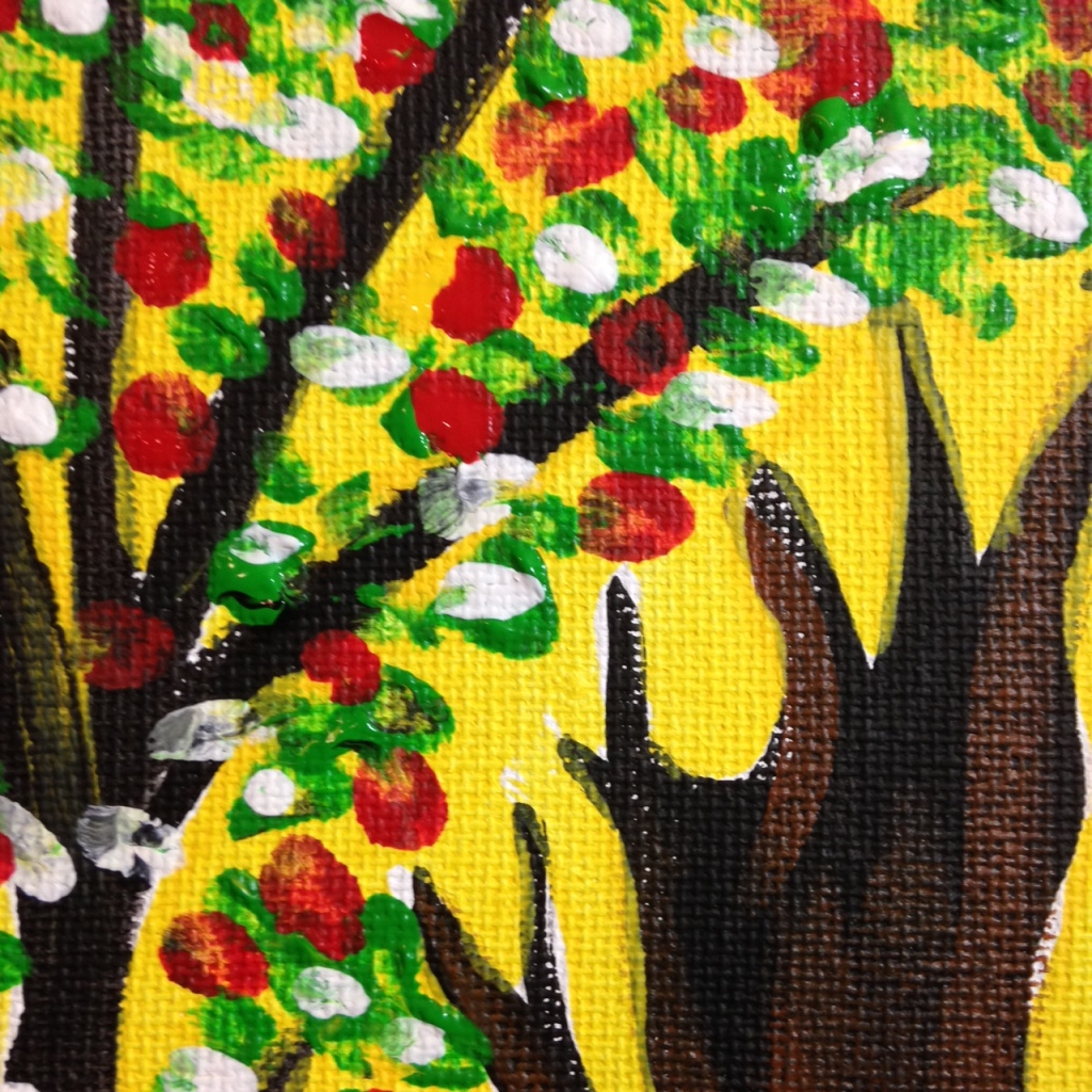 Close-Up 4 Smilin Moose- Tribute to William Hawkins Linda Cleary 2014 Acrylic on Canvas