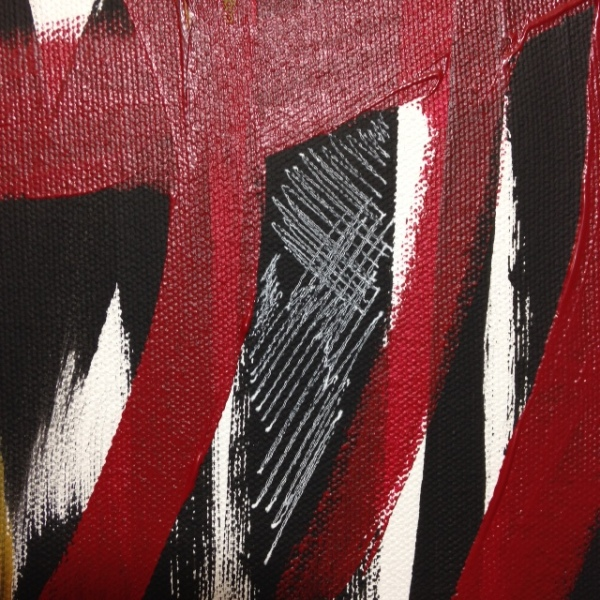 Close-Up 2 Windy Wednesday- Tribute to Jack Tworkov Linda Cleary 2014 Acrylic on Canvas