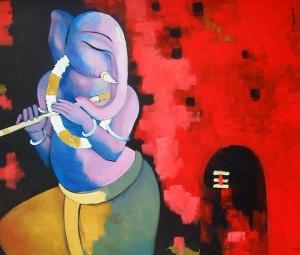 Sekhar Roy Title: Ganesha With Flute