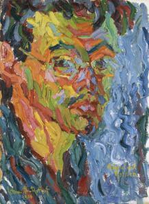Self Portrait- Karl Schmidt-Rotluff