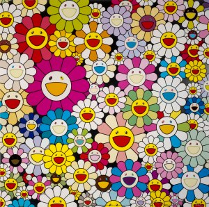 Takashi Murakami- Detail from painting