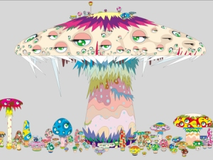 Takashi Murakami- Mushrooms