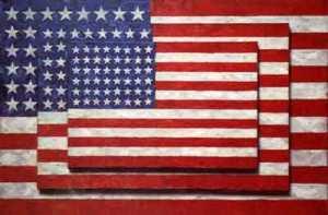 Three Flags- Jasper Johns