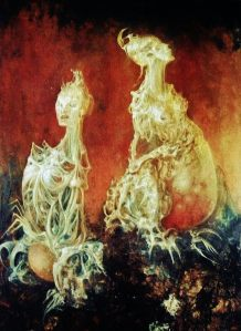 Spirits- Leonor Fini