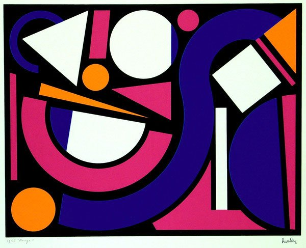 Day 118 auguste herbin le fin day of the artist for Auguste herbin