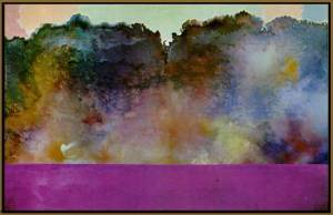 Ronnie Landfield, Diamond Lake, 1969