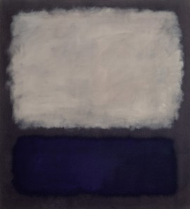 Blue and Gray- Mark Rothko