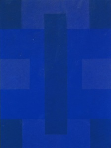 Blue Painting 1953- Ad Reinhardt