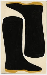 Bootless Boots- Jo Baer
