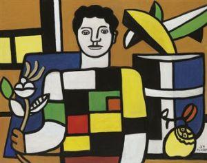 LE JEUNE HOMME AU CHANDAIL- Fernand Leger
