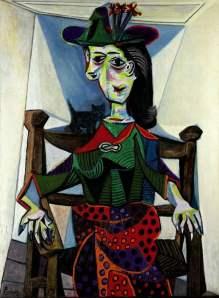 Dora Maar Au Chat- Pablo Picasso