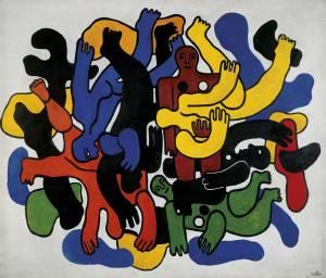 Les grands plonguers noirs, Fernand Léger (1944)