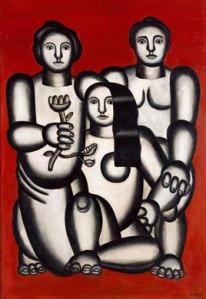 Composition Aux Trois Femmes-1927- Fernand Leger