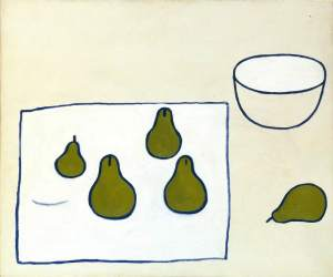 Five Pears 1976- William Scott