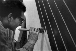 Frank Stella 1964- Photo by Ugo Mulas