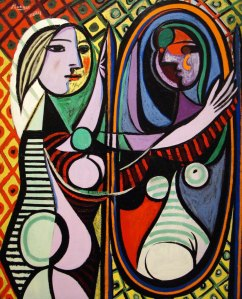 Girl Before A Mirror- Pablo Picasso