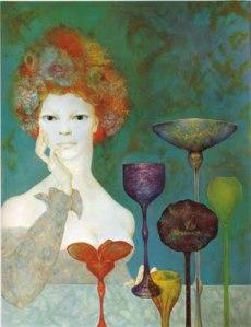 La Gardienne des sources- Leonor Fini