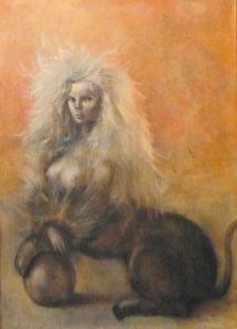 Sphinx- Leonor Fini