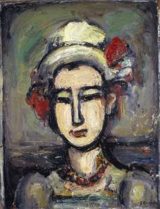 The Italian Woman 1938 by Georges Rouault