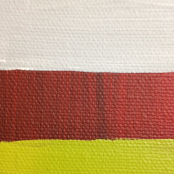 Close-Up 3 Red, black, gray, olive and white- Tribute to Mark Rothko Linda Cleary 2014 Acrylic on Canvas