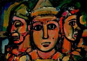 Clowns- Georges Rouault