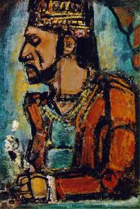 The Old King c 1936- Georges Rouault