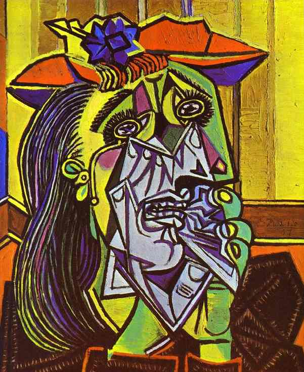 Proto cubist day of the artist for Picasso painting names