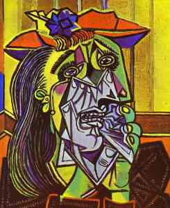 The Weeping Woman- Pablo Picasso